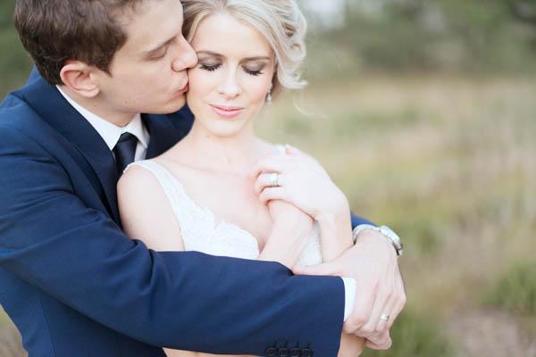 soft and romantic couple's portrait
