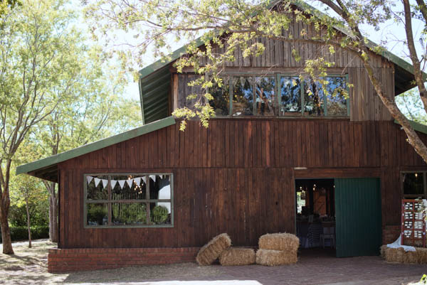 rustic farm wedding reception venue