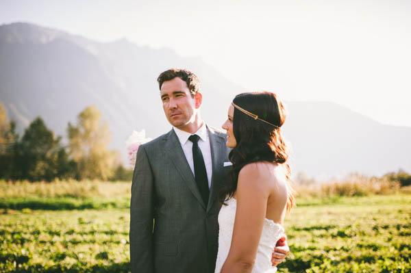 naturally beautiful couple's portrait