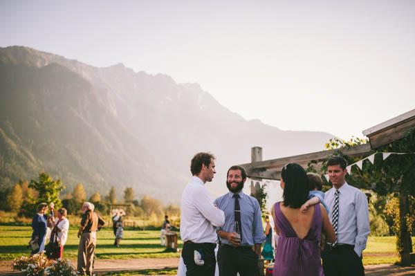 diy farm wedding reception