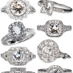 Antique and Vintage Engagement Rings from EraGem