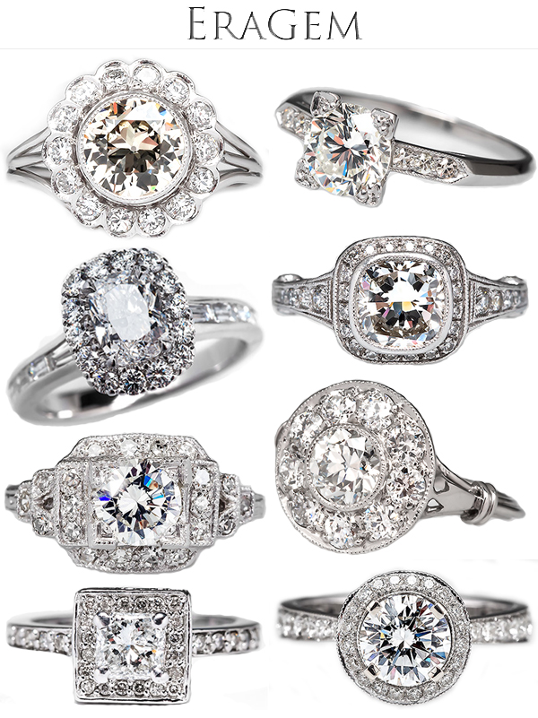 Vintage Engagement Rings Wedding Blog Posts Archives Junebug