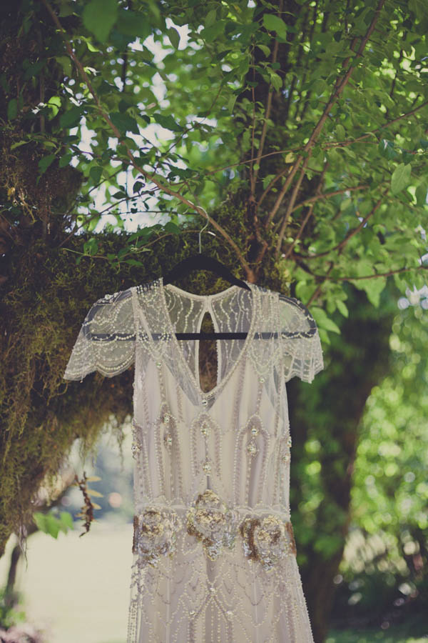 romantic bridal fashion, wedding dress by Jenny Packham