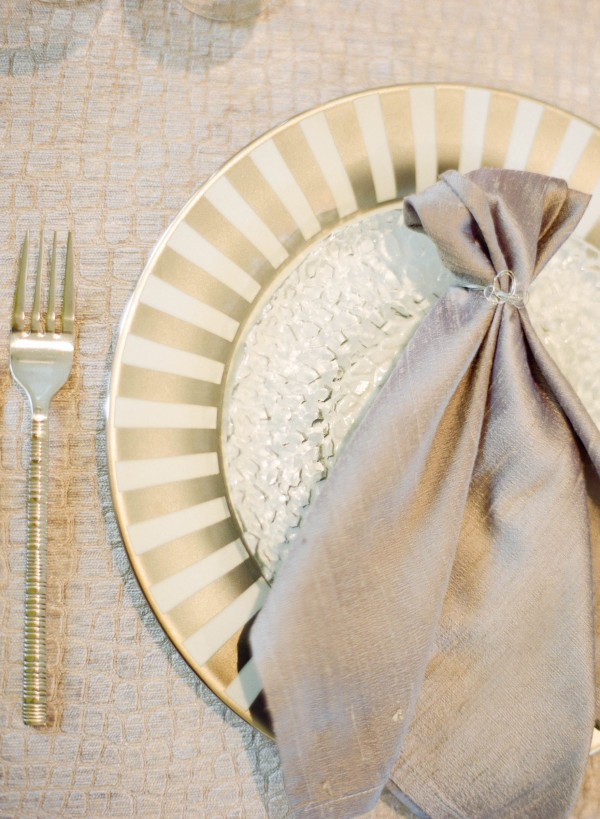 50 shades of gray table setting