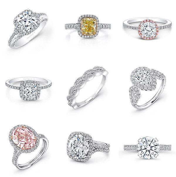 In Style Wedding Rings Choosing Your Engagement Ring Style Junebug Weddings