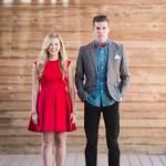 Fashionable Fall Engagement Shoot