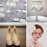 Neutral Wedding Color Palette Inspiration