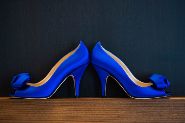 10 perfect wedding shoes junebug weddings bold blue kate spade wedding shoes junglespirit Image collections