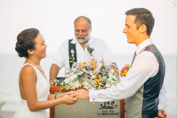 sweet ceremony vows