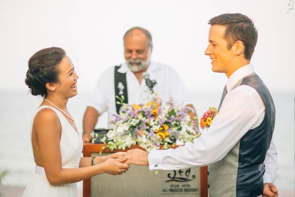 sweet ceremony vows