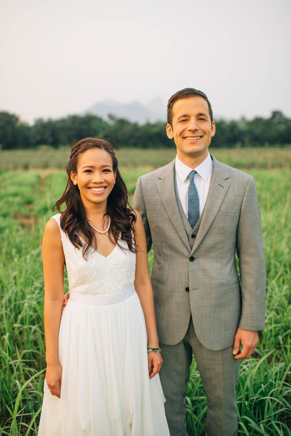 beautiful Thailand couple's portrait