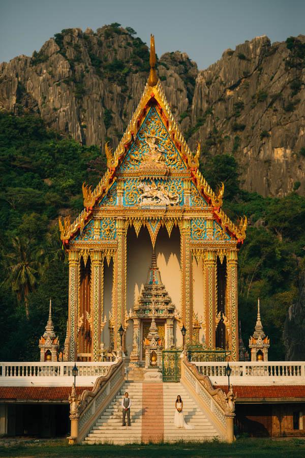 stunning Thailand architecture portrait
