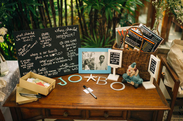 rustic cards table