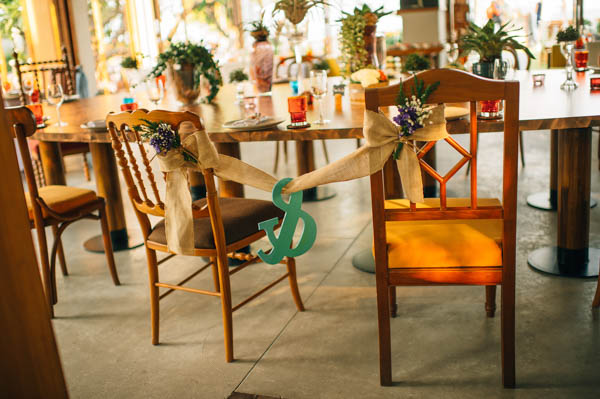 rustic his and hers chair decor