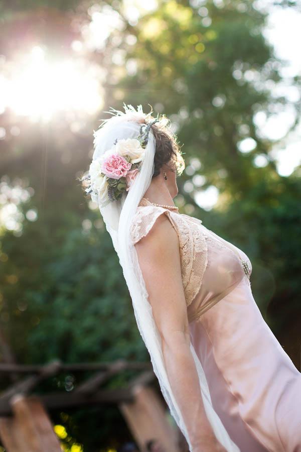 vintage bridal fashion