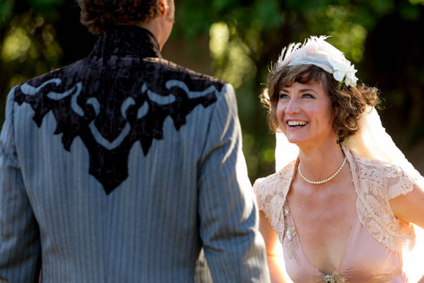 whimsical vintage wedding ceremony vows