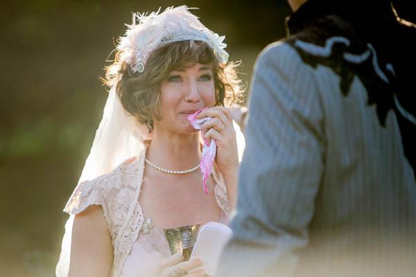 beautiful and emotional wedding ceremony