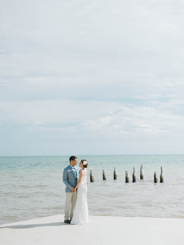 simply stunning Key West couple's portrait