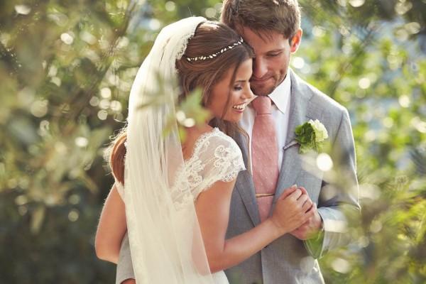 stunning Italian destination wedding couple's portrait