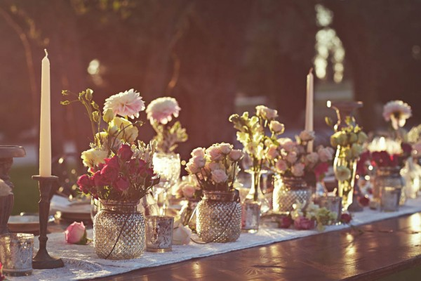 rustic Italian destination wedding ceremony decor