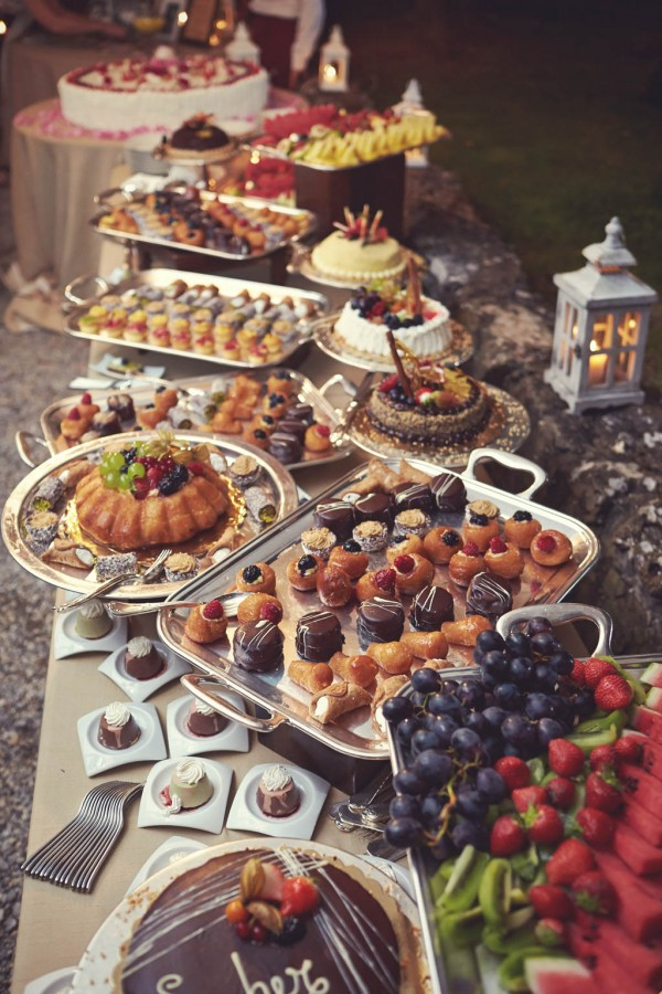 decadent dessert table