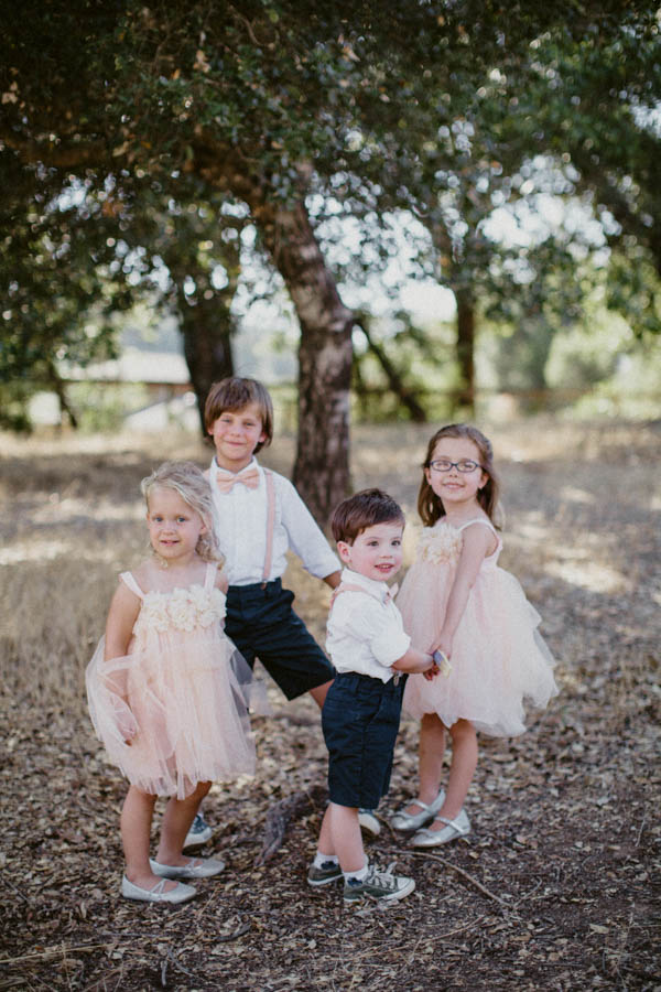 adorable ring bearers and flower girls