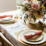 Gold and Blush Styled Shoot