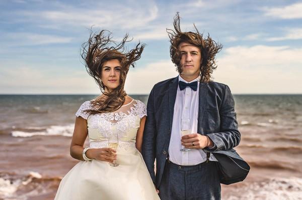 Prince Edward Wedding.Nautical Sunset Wedding In Prince Edward Island Junebug