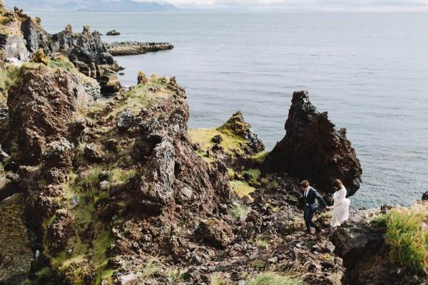 Iceland elopement portraits