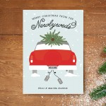 Adorable Newlywed Holiday Cards from Minted!
