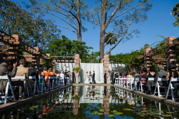koi pond ceremony