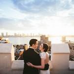 Classy Rooftop Jewish Wedding in NYC