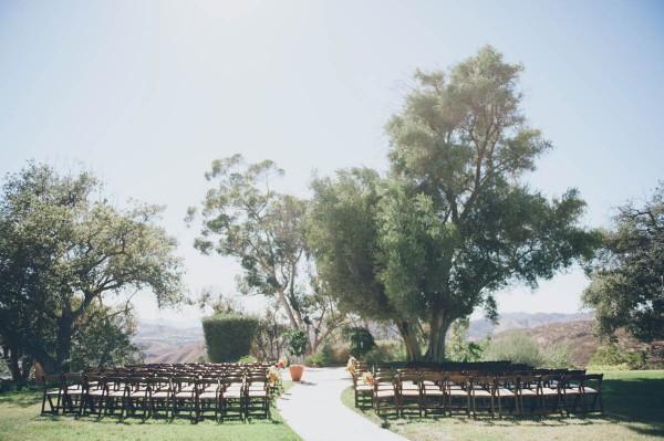Upper Las Virgenes Canyon Open Space Preserve wedding ceremony