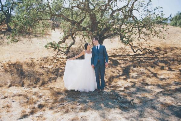 laid back California wedding