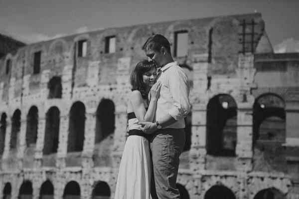 Rome anniversary photo
