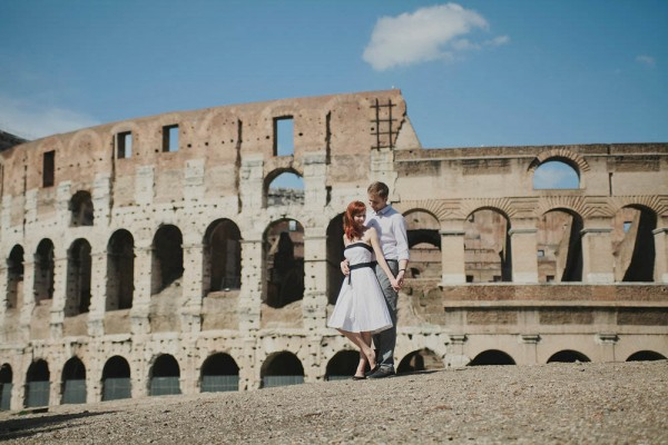 photo session in Rome