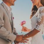 Destination Wedding in Santorini