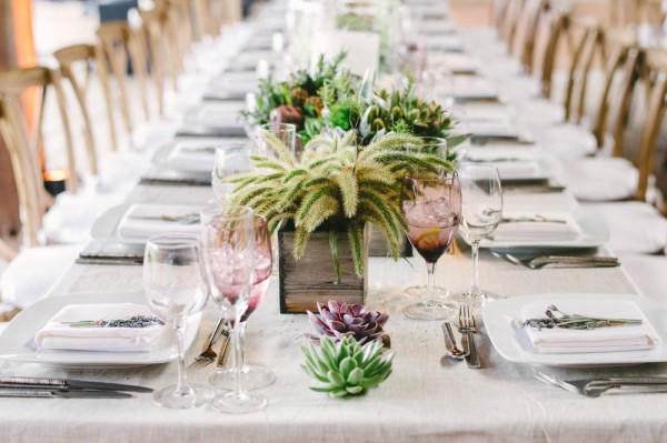 succulent motif for your wedding