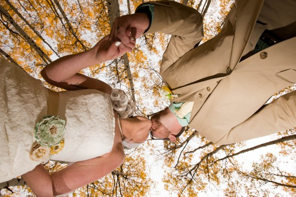 creative mountain wedding photography