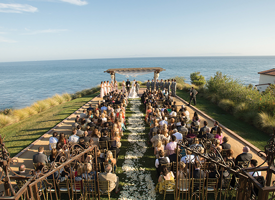 oceanfront wedding venue
