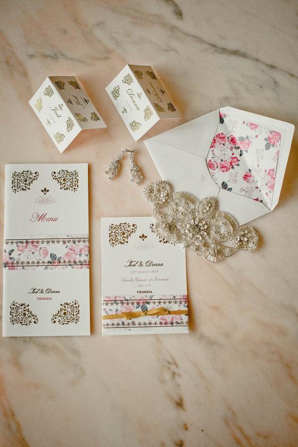 Glamorous Venice Wedding