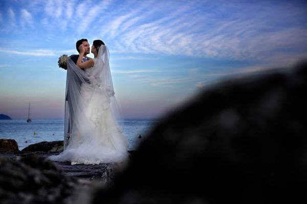 Italian wedding by the sea