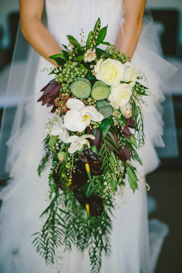 Flowers For Hair Wedding Australia : Lush outdoor wedding in australia junebug weddings