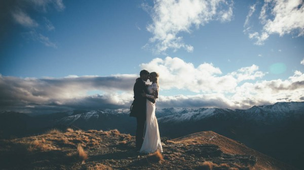 Mountaintop Helicopter Wedding 19