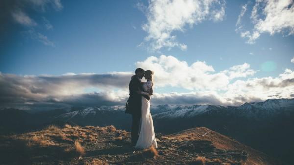 Mountaintop Helicopter Wedding 19