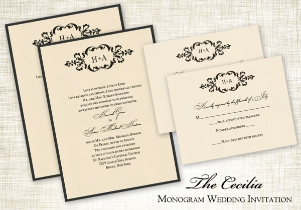 Gorgeous Wedding Paper From The American Wedding Marketplace