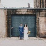 Modern Minneapolis Warehouse District Wedding