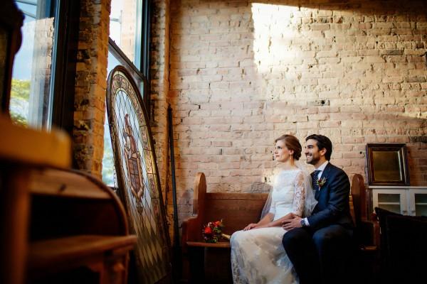vintage inspired wedding at architectural artifacts | junebug weddings