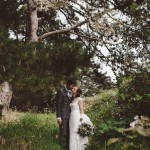 Modern Log Cabin Inspired San Francisco Wedding