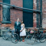 Coral and Pink Downtown Wedding in Toronto